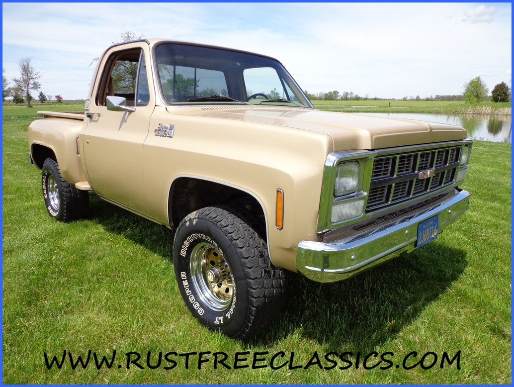 All Chevy 1980 chevy k10 : 80 K10 stepside Sierra Classic 15 4x4 1980 GMC